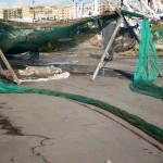 Allestimento e riparazione rete a strascico