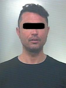 L'uomo arrestato dai Carabinieri