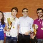 Premiazione 1^ classificato Maths Challenge 2014