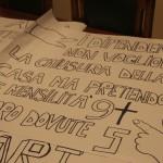 Cartelloni di protesta, dipendenti (ST)