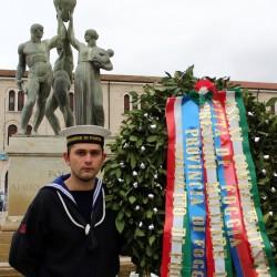 25 aprile: Mattarella e Renzi all'Altare della Patria