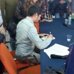 Giuseppe Catozzella autografa copie di 'Non dirmi che hai paura'2