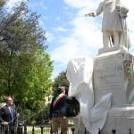 Inaugurazione statua Vincenzo Lanza - ph vincenzo maizzi