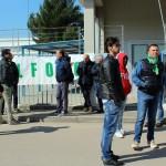 Protesta lavoratori ALENIA5