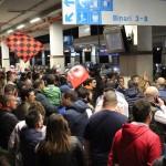 Tifosi in stazione Foggia1