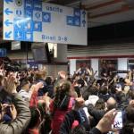 Tifosi in stazione Foggia4