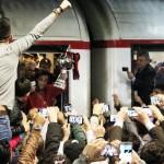 Tifosi in stazione Foggia5