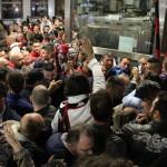 Tifosi in stazione Foggia6