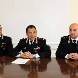 Monte Sant'Angelo: furti, estorsioni e disponibilità di armi: 8 arresti