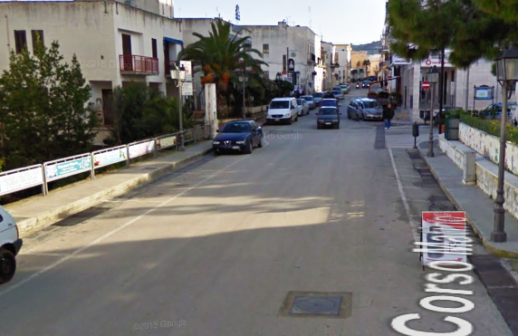 Corso Matino (google maps) - immagine d'archivio