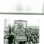 24. - bis- Il Sacro Anni '50-Festa Madonna di Pulsano-Il Quadro di Santa Maria di Pulsano trafugato nel 1966-Foto Don  Antonio di Lauro