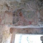 35. - Interno ingresso eremo S.Nicola-resti di affreschi