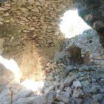 37. - Interno eremo San Nicola-alcune parti crollate