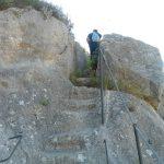 38. - Scalinata Eremo S.Nicola scolpita nella roccia