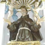 La sacra statua di S.Pasquale Baylon nella chiesa di S.Maria delle Grazie a Manfredonia
