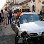 Incidente via Antiche Mura (ph antonio beverelli - 23.05.2016)