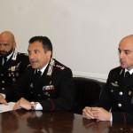 Conferenza Carabinieri 3 maggio - ph vincenzo maizzi