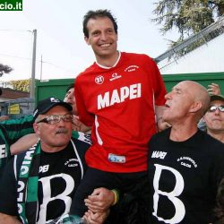 Sassuolo: 8 anni fa la B battendo il Manfredonia. Ora l'Europa