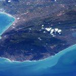Gargano, visto dalla Stazione Spaziale internazionale