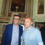 Il nuovo presidente Pro Loco regionale Rocco Auciello insieme a Francesco Schiavone,  presidente Pro Loco Manfredonia