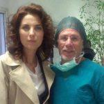 2013- Antonio Tomaiuolo insieme a all'attrice Vanessa Gravina nel film - Madre aiutami-