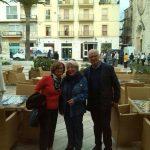 2014- Ripalta Faccenda durante le riprese del film girato a Manfredonia -Baciato dal sole