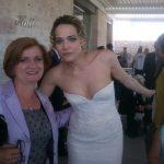 2015-Ripalta Faccenda insieme a Laura Chiatti nel film -Io che amo solo te 2
