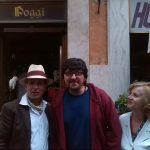 2014- Antonio Tomaiuolo e Ripalta Faccenda insieme all'attore  Ricky Memphis