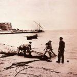 Anni '20-'30- Sciabica in zona Cala dello Spuntone ora Piazza Marconi