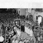 Anni '40- Processione Sacra Icona in corso Manfredi-Archivio F.Rinaldi