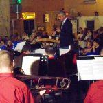 28 luglio 2012. Amatrice-Piazza Cacciatori del Tevere- Concerto del Complesso Bandistico di Manfr