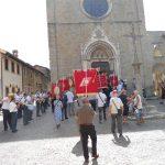 29 lugio 2012- La bellissima chiesa  di S.Francesco dove è avvenuta la cerimonia del gemellaggio