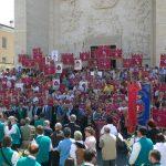 29 luglio 2012- 29 luglio 2012-Amatrice-Le delegazioni avisine provenienti da tutte le regioni it