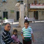 Amatrice-2012-Il segretario Avis Manfredonia Matteo D'Angelo con i figli