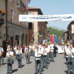 Amatrice- luglio 2012-La Banda di Manfredonia diretta dal M° Giovanni esposto per le vie di Amatr