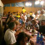 Cena con i rappresentanti Avis provenienti  da molte regioni d'Italia con la gustosissima Matrici