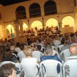 Festa Patronale 2016-Chiostro Municipio-Concerto Banda di Conversano diretta dal M° Susanna Pescetti