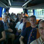 Luglio 2012-Gli avisini sull'autostrada diretti a Amatrice per il Gemellaggio
