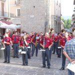 Luglio 2012-La Banda di Manfredonia in  Piazza Cacciatori del Tevere