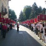 Luglio 2012-Labari  Avis di numerose città d'Italia al raduno di nazionale di avisini ad Amatrice