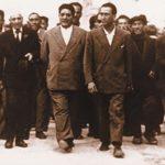 1953-Monte S.Angelo-giuseppe-divittorio-e-michele-magno-durante-una-manifestazione-per-le-elezioni-politiche