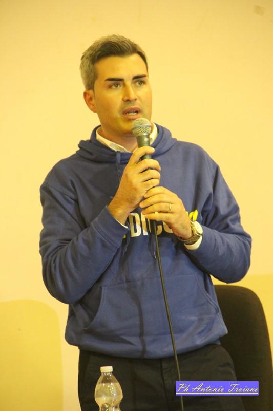 Il consigliere comunale Massimiliano Ritucci
