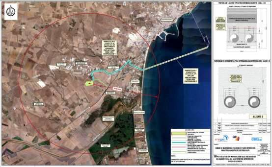 Figura 1 - localizzazione area di intervento impianto Energas