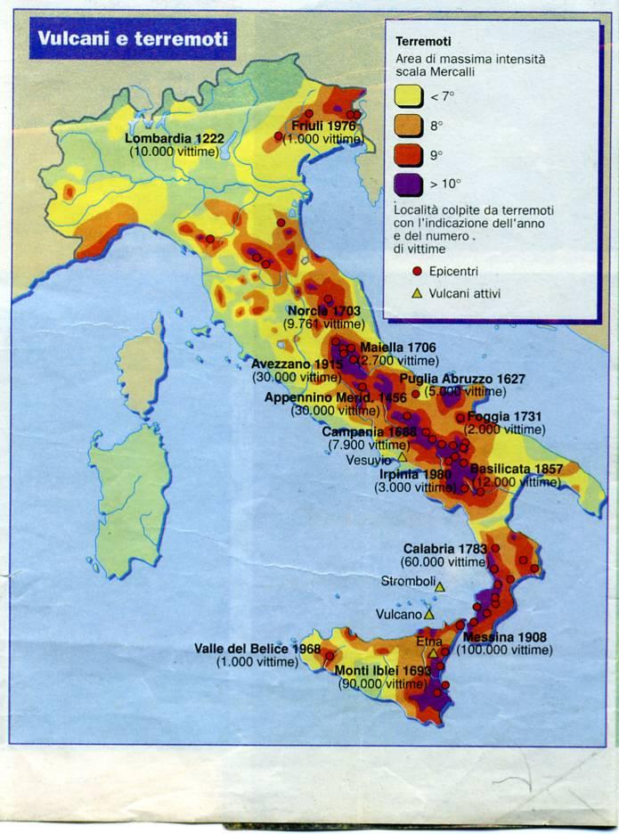 Cartina Italia Terremoti.Sara Lui Che Porta Jella All Italia Mappa Di Terremoti In Italia Di Pino Delle Noci Su Il Gargano Disse Che
