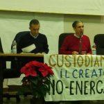 Una fase della conferenza stampa (ph Benedetto Monaco)