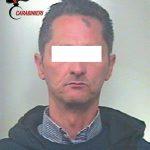L'uomo arrestato dai Carabinieri (ph CARABINIERI)