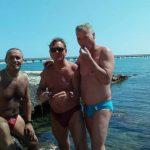 Nell'immagine: Gianfranco Conoscitore, Sante Zerulo, Michele Ionata (SQ-RS)