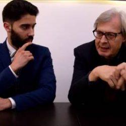 """Vittorio Sgarbi a Foggia: """"Michelangelo è irraggiungibile!"""" (video)"""