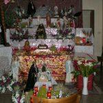 Sepolcro in casa allestito da Michele Nenna