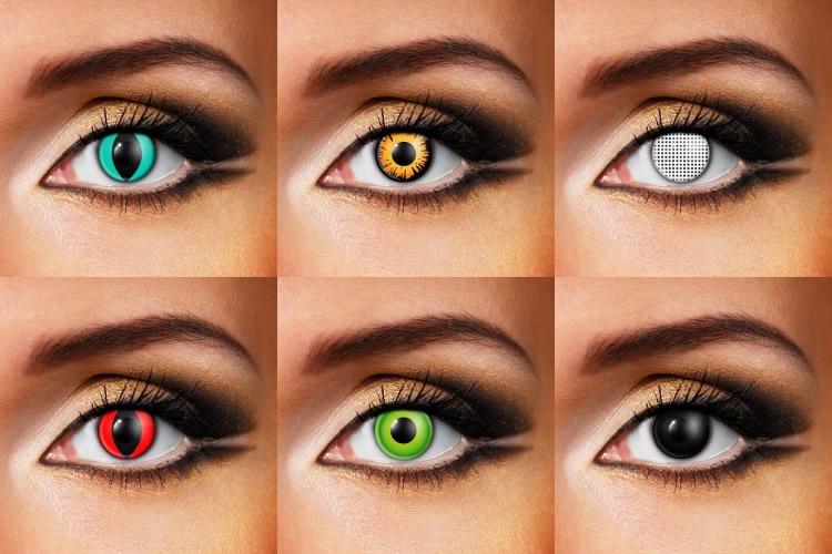 Le lenti a contatto che ingrandire gli occhi